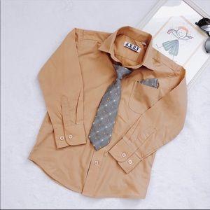 A.X.N.Y Little Boy Dress Shirt